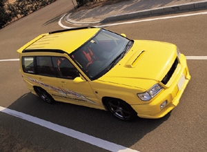 Subaru forester sf5 zero sports