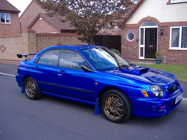 Subaru impreza wrx sti s202