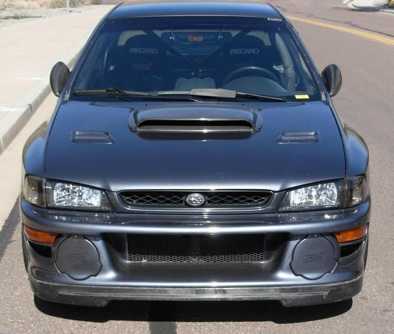Subaru impreza gc8 gray
