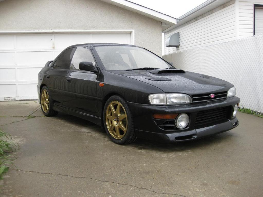 Subaru impreza gc8 black