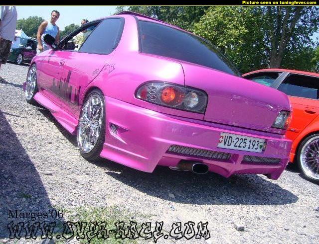 Subaru impreza gc8 purple
