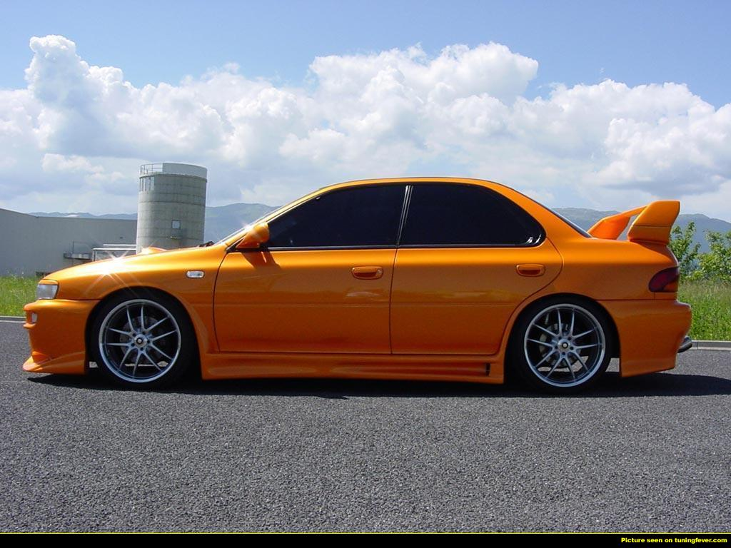Subaru impreza gc8 orange