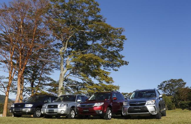 Модельный ряд Subaru Forester